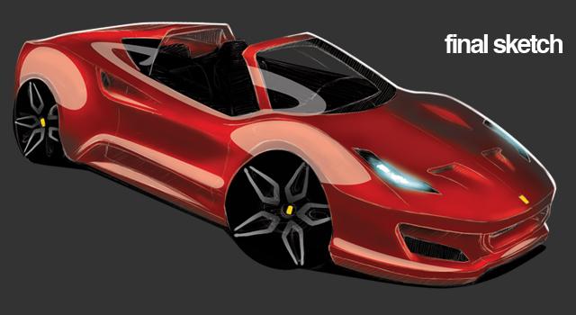 Cinecar &#8211;<br>Ferrari 308 Concept