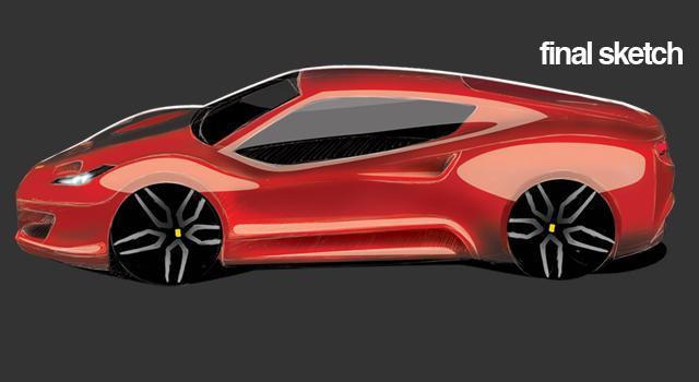 Cinecar –<br>Ferrari 308 Concept